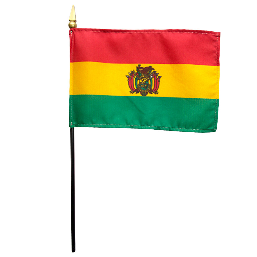 Bolivia Government Miniature Flag, FBPP0000009789