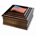 USA Flag Memory Box, MBOXUSA