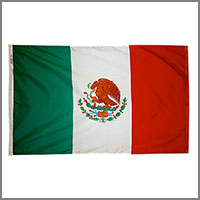 Mexican Flag and Banners