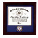 Coast Guard Certificate of Achievement Frame, MFCGCOA
