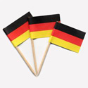 Germany Toothpick Flags,MGERMPAPER