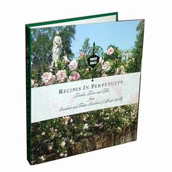Mount Holly Recipes In Perpetuity Book, MHCRECIPES