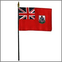 British Territory & Canadian Province Flags - Miniature