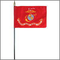 Marine Corps Miniature & Car Flags