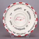 Arkansas Razorbacks Chip and Dip Tray, ML53022