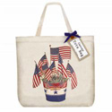 Flag Bucket Tote Bag, MLTTB560