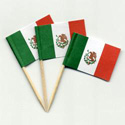 Mexico Toothpick Flags, MMEXIPAPER