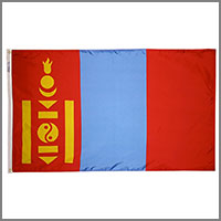 Mongolia Flags