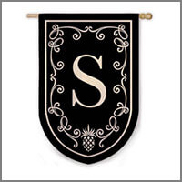 Monogram Flags & Banners