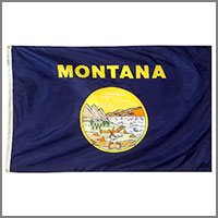Montana State Flags & Banners