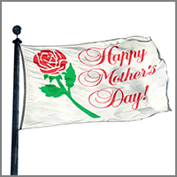 Mother's Day Flags and Decorations