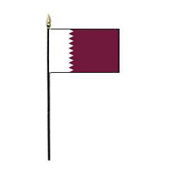 State of Qatar Miniature Flag, MQATA46