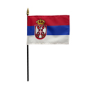 Serbia National Miniature Flag, MSERB46