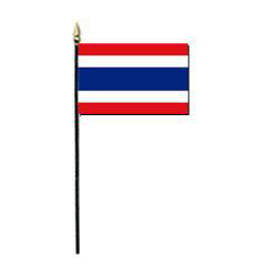 Kingdom of Thailand Miniature Flag, MTHAI46