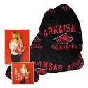 Razorback Beach Towel Backpack, MTSBPBEFR
