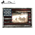 American Flag Wood Photo Frame, MTWRSP1679