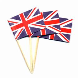 United Kingdom Toothpick Flags,MUKPAPER