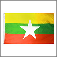 Myanmar (Burma) Flags