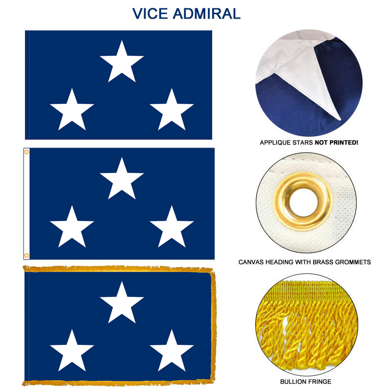 Navy Vice Admiral Flag