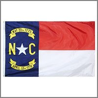 North Carolina State Flags & Banners