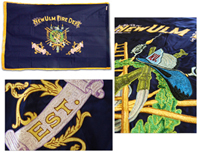 Embroidered Flag Examples