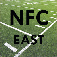 NFC East Teams (Dallas Cowboys, New York Giants, Philadelphia Eagles, Washington Redskins)