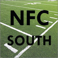 NFC South Teams (Atlanta Falcons, Carolina Panthers, New Orleans Saints, Tampa Bay Buccaneers)