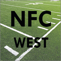 NFC West Teams (Arizona Cardinals, Los Angeles Rams, San Francisco 49ers, Seattle Seahawks)