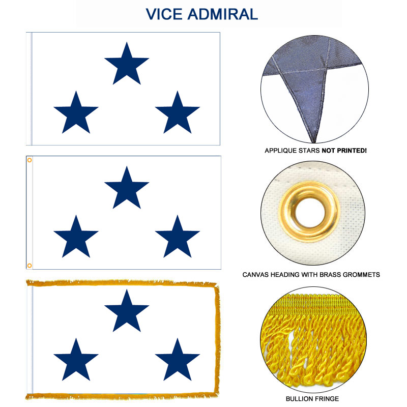 Navy Not Of The Line Vice Admiral Flag