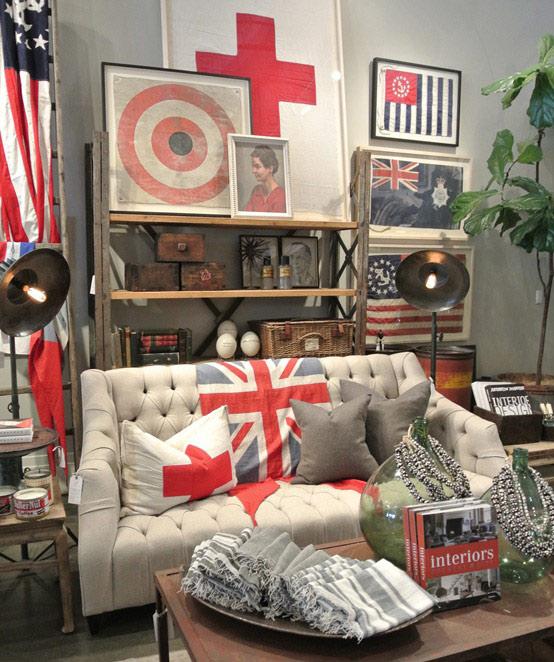 Flag Decorating Ideas