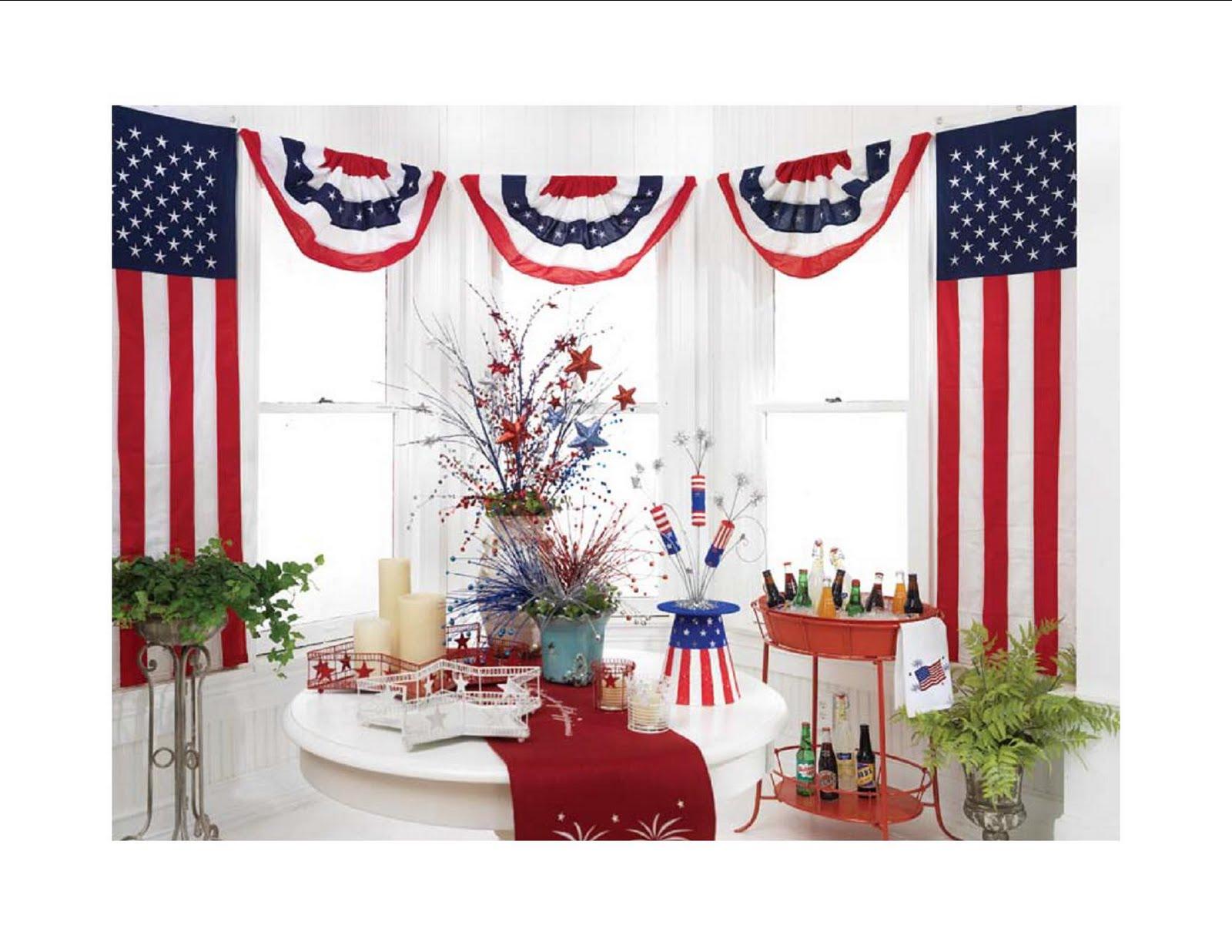 Flag decorating ideas flagandbanne - Decoration creative ...