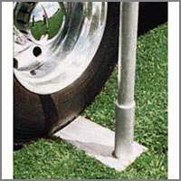 Outdoor Flag Pole Bases