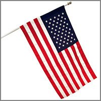 Outdoor American Flag Kits