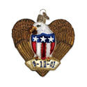 Remembrance Eagle Ornament, OWC30027