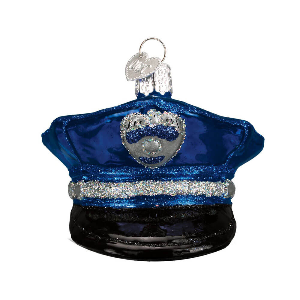 Police Officers Cap Ornament