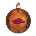 Arkansas Razorbacks Basketball Ornament  , OWC62601