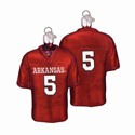Arkansas Razorbacks Football Jersey Ornament  , OWC62602
