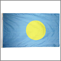 Palau (Belau) Flags