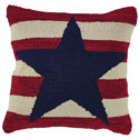 American Star Hooked Pillow, PARK42052P