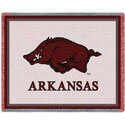 Arkansas Razorbacks Hog Mascot Throw