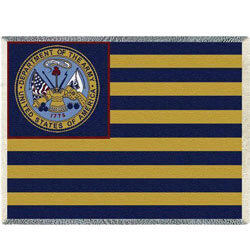 Army Flag Throw Blanket, PCI5154A
