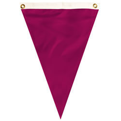 Nylon Ruby Single Pennant, FBPP0000012108