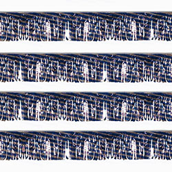 Blue/Silver Striped Starburst String Pennants, FBPP0000009763