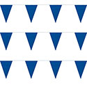 Blue String Pennants