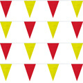 Red/Yellow Heavy Duty String Pennants