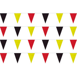 Red Black Yellow String Pennants, FBPP0000011681
