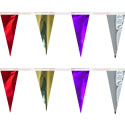 Purple Silver Red Gold String Pennants, PENNSCR618PSRGD