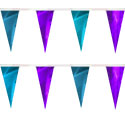 Purple Turquoise String Pennants, PENNSCR6O