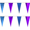 Purple Blue String Pennants, PENNSCR6Q