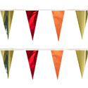 Gold Orange Red String Pennants, PENNSCR6X